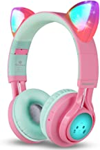 Discount on Cat Ear Headphones with LED Glowing Lights