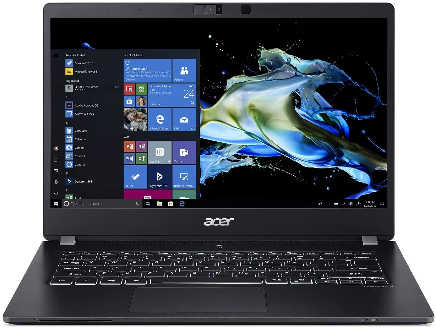 Save $102 on Acer TravelMate P6 Thin & Light Business Laptop