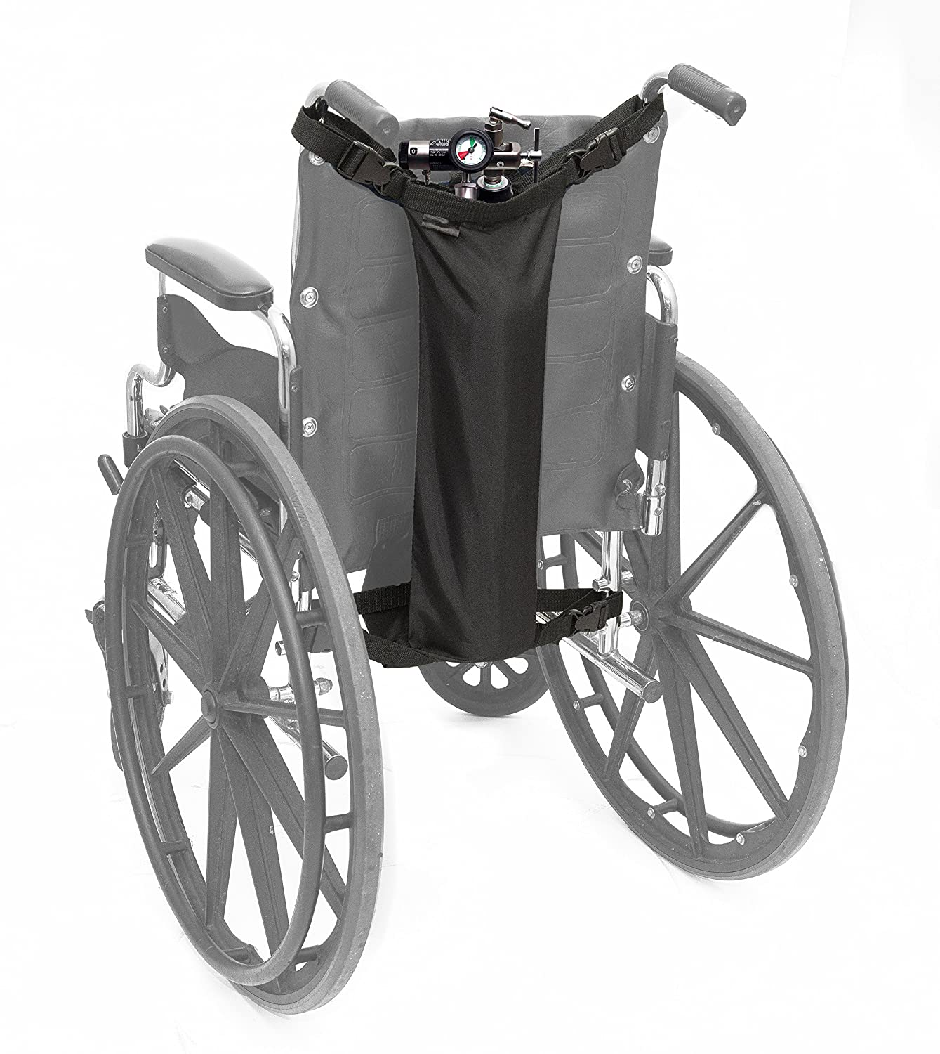 AdirMed Oxygen Cylinder Bag for Wheelchairs