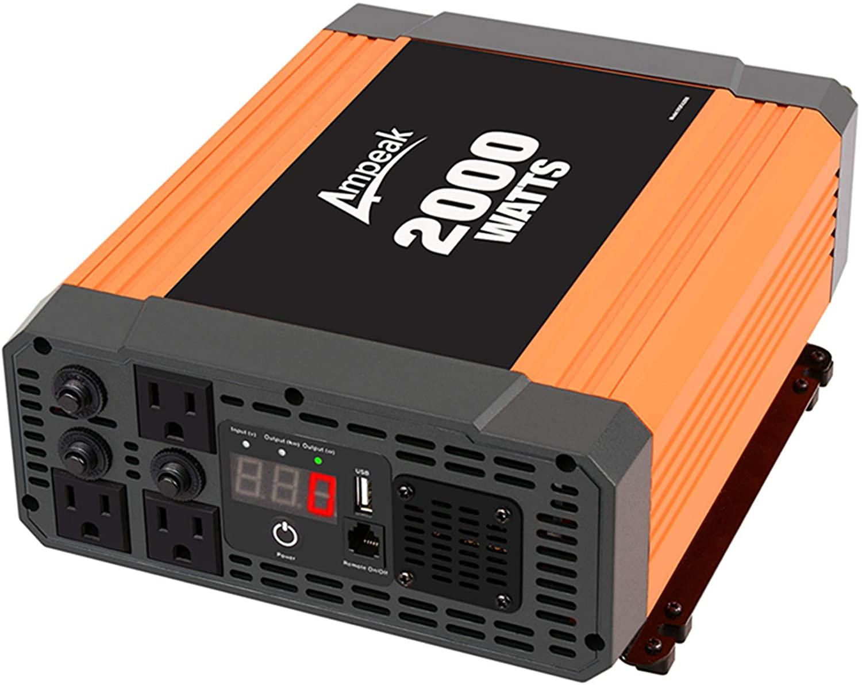 Ampeak 2000W Power Inverter Specifications & Price