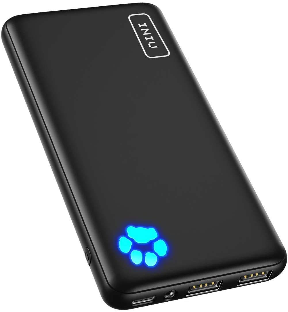 Save 10% + Extra $3 Off on10000mAh Power Bank  INIU Portable Charger