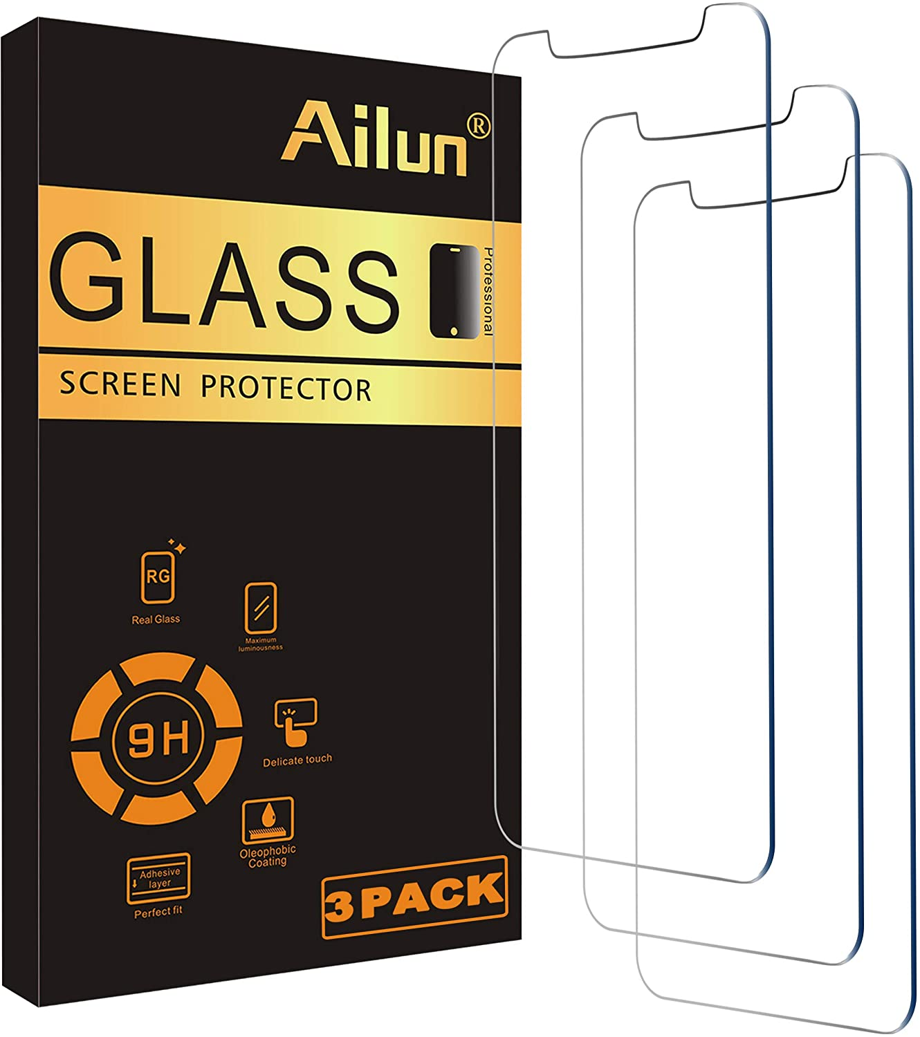 Save 37% on Ailun Glass Screen Protector Compatible for iPhone 12 pro
