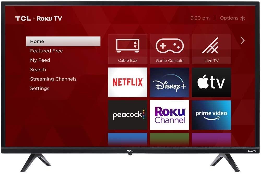 Save 18% on 32-inch 3-Series 720p Roku Smart TV – 32S335
