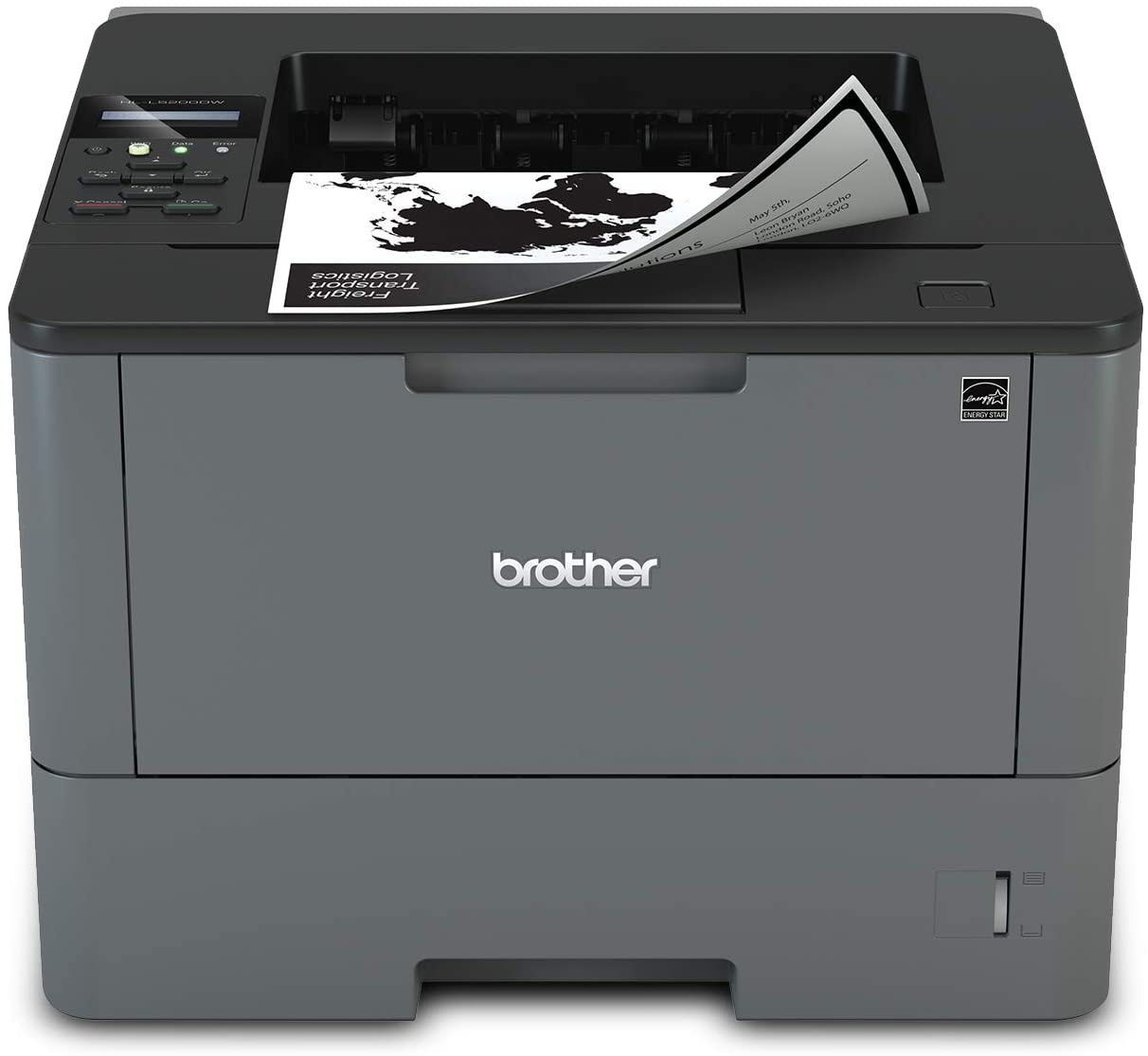 Brother Monochrome Laser Printer, HL-L5200DW