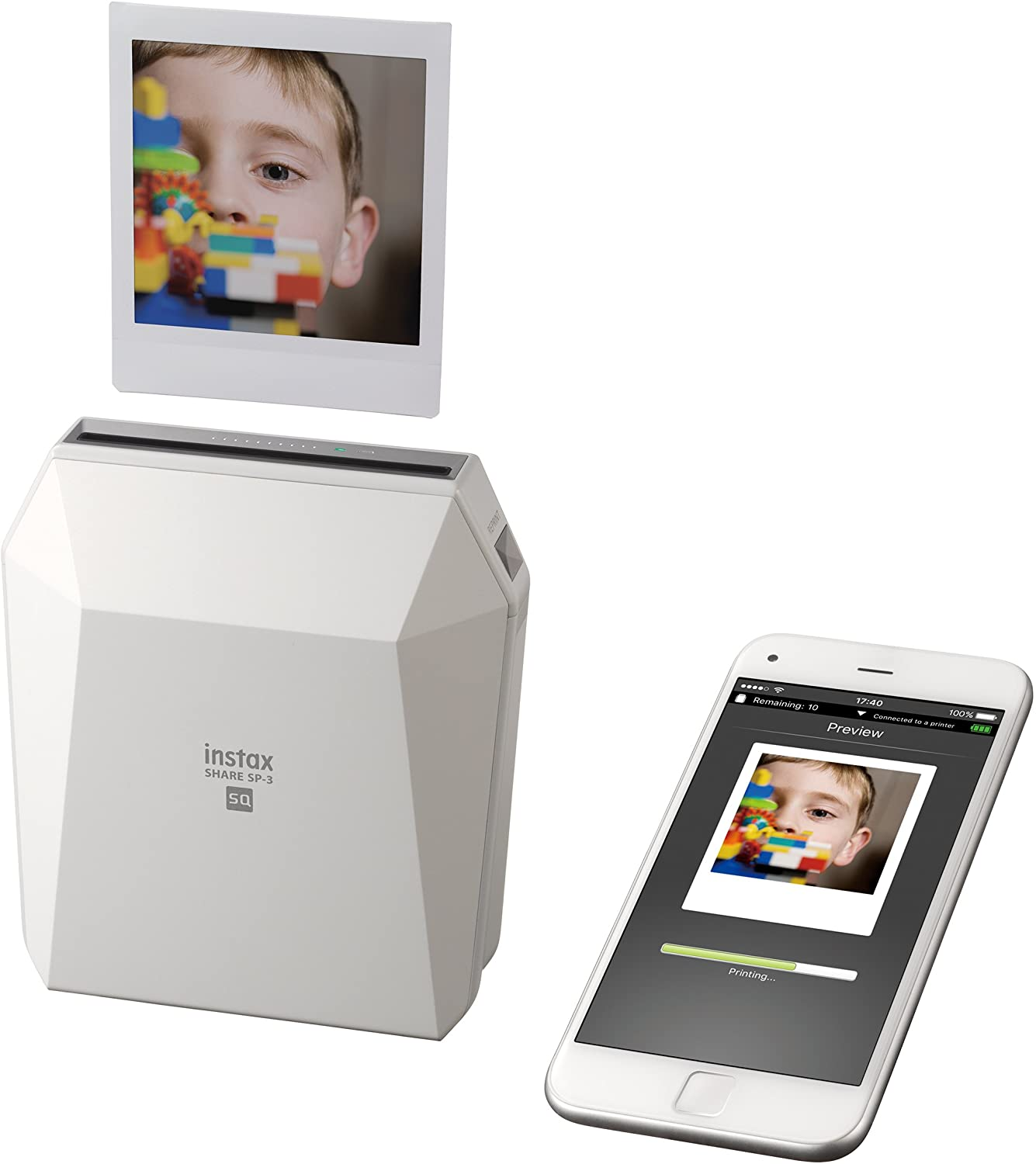 Fujifilm Instax SP-3 Mobile Printer – White