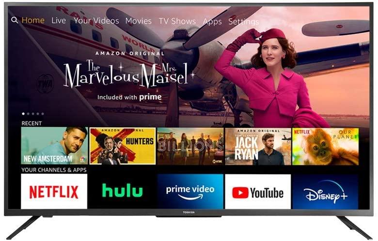 Save $60 on Toshiba 43LF621U21 43-inch Smart 4K UHD TV