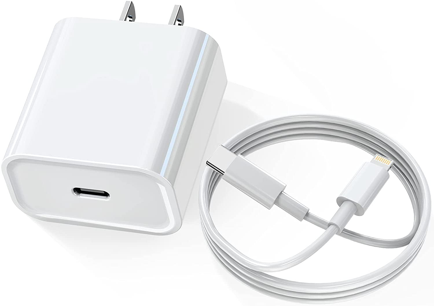 Save 60% on iPhone 12 Charger, USB C Wall Charger Fast Charging.