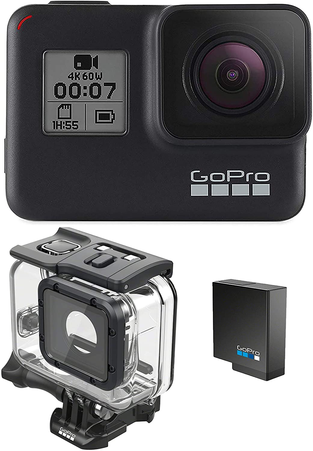 Save $101 on GoPro HERO7 Extra Battery Super Suit Dive Housing Case