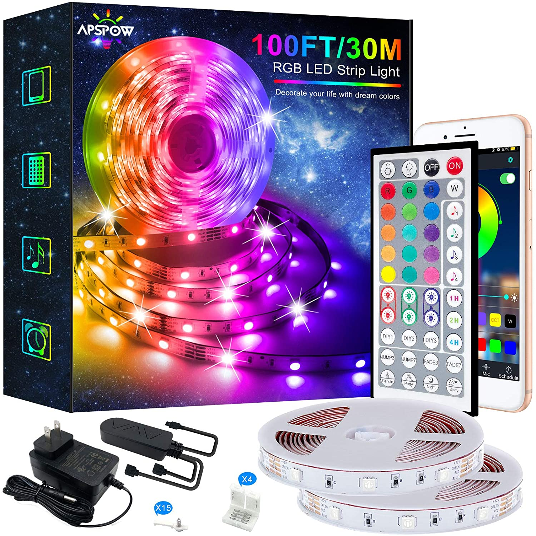 Save 50% on LED Strip Lights – 100FT Led Light Strips