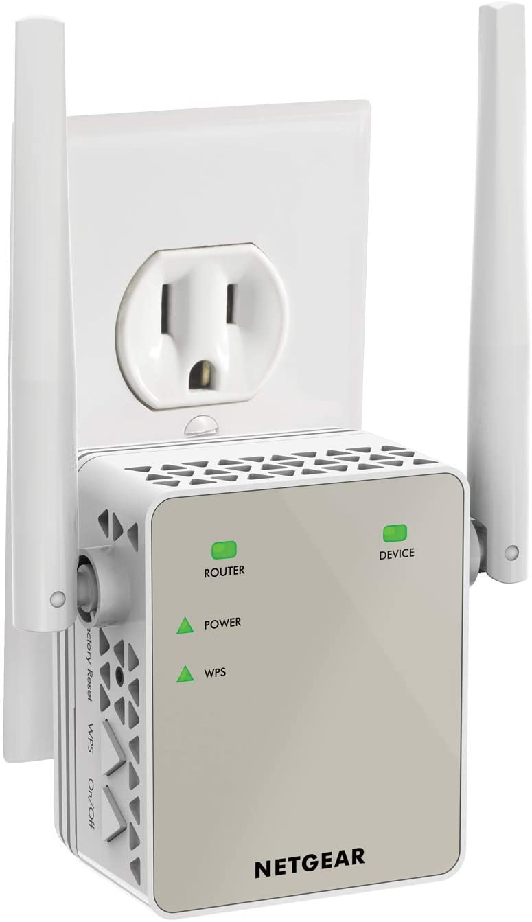 Save 12% on NETGEAR Wi-Fi Extender EX6120 Coves Up to 1500 Sq Ft