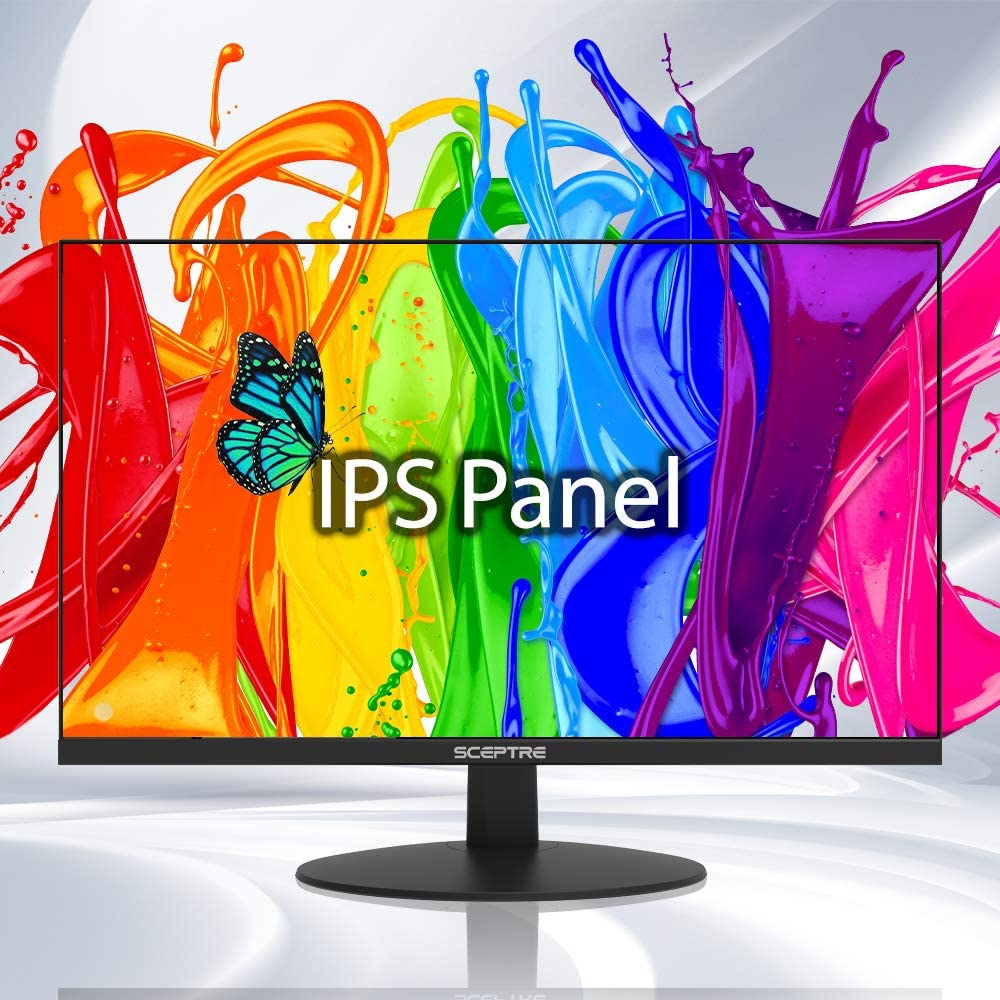 Save $8 on Sceptre IPS 24-Inch Business Computer Monitor 1080p 75Hz