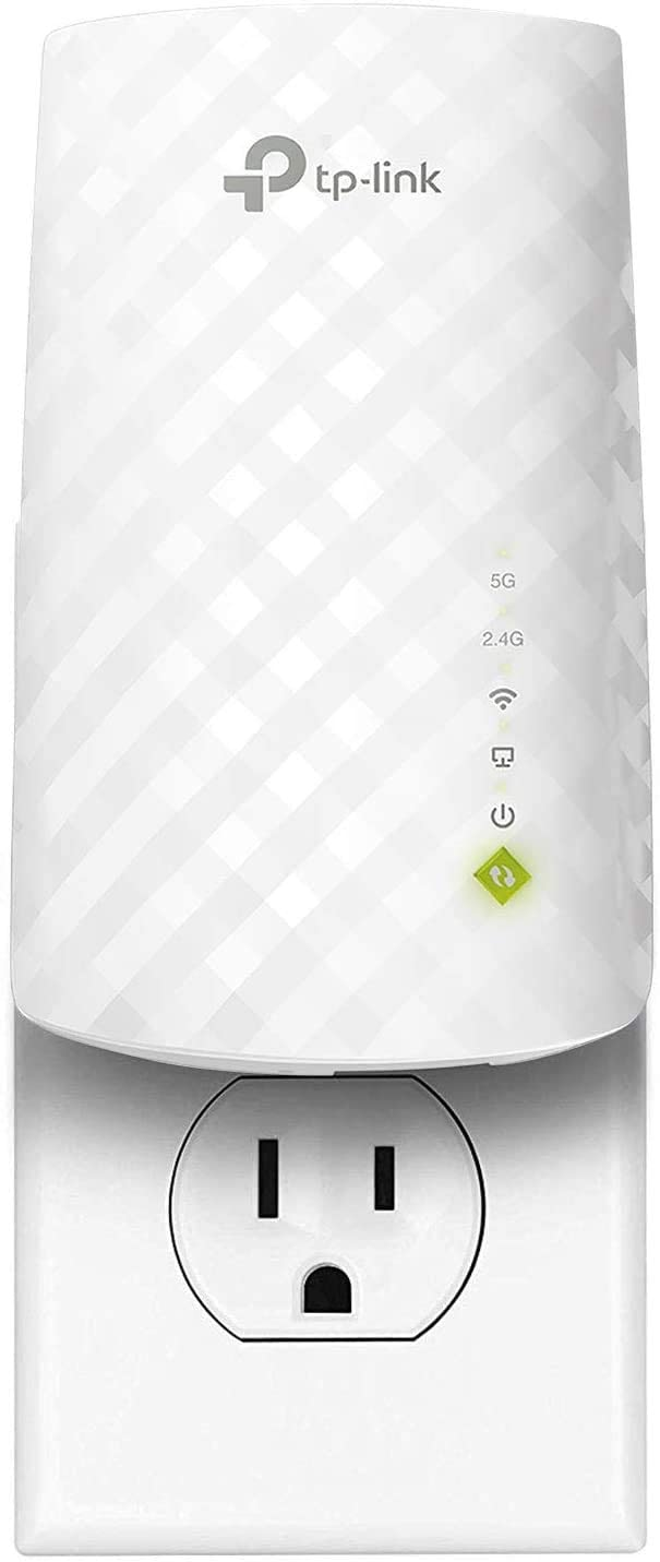 Save $12 on TP-Link AC750 WiFi Extender, Covers Up to 1200 Sq.ft